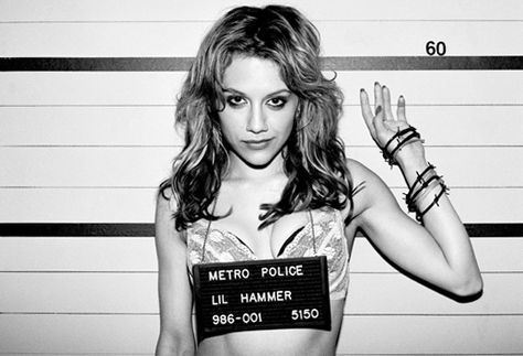 SPUN Brittany Murphy mugshot