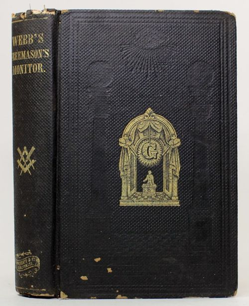 Masonic Monitor book from 1863. Need this for our historic lodge