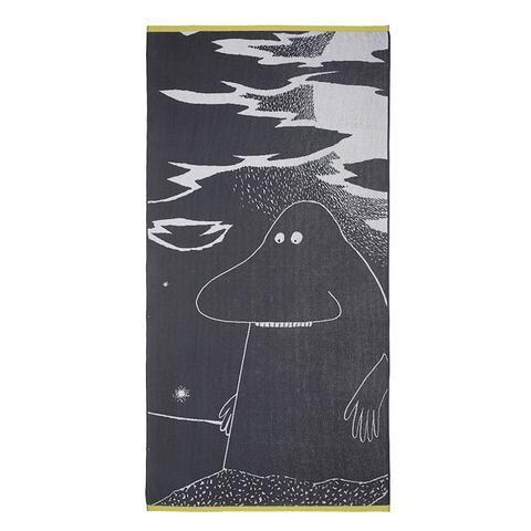 Groke towel grey 90 x 180 cm by Finlayson