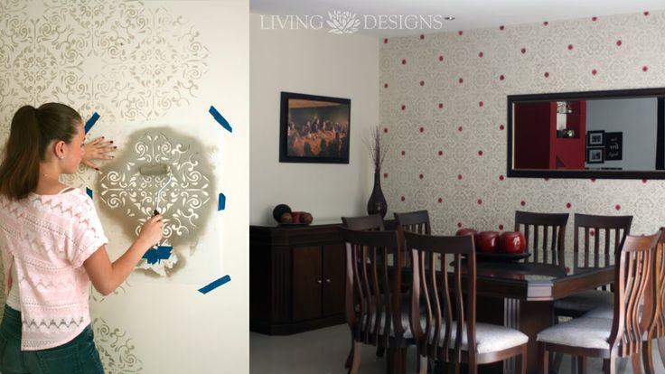 Como pintar paredes con pinturas metálicas