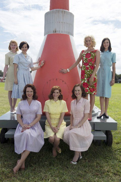 Picture recreated from the original with #TheAstronautWivesClub stars JoAnna Garcia Swisher, Odette Annable, Dominique McElligott, Erin Cummings, Azure Parsons, Yvonne Strahovski and Zoe Boyle in The Astronaut Wives Club (2015)