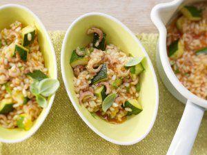 Rezept: Krabben-Risotto mit Zucchini
