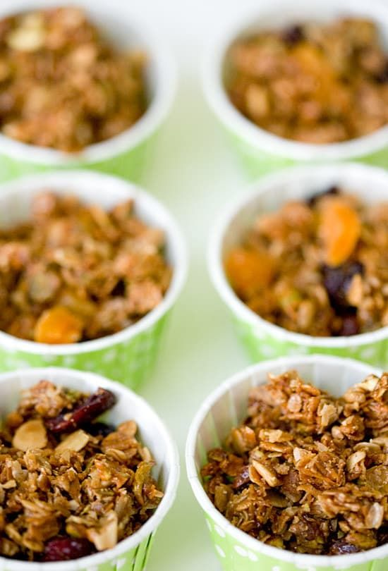 Olive oil and salt transforms basic granola into an addictive sweet and savory treat. Get the recipe here.