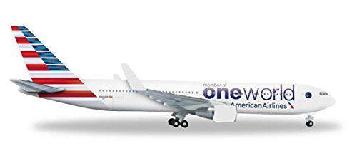 Herpa American 767-300 1:500 Model Airplane One World