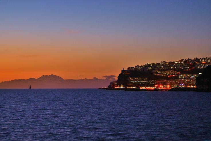 Puerto Rico & El Teide. Canary Islands
