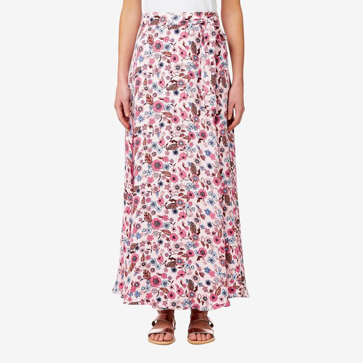 Shop now: Floral Maxi Skirt. #seedheritage #seed #woman