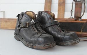 Ski boots C.1926