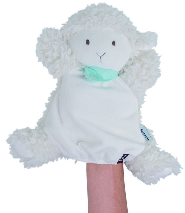 New from Kaloo, the really cute Les Amis Collection. This is a soft and cuddly Lamb Glove Puppet, we also have the Lamb Cuddly Toy. This puppet also comes as a Donkey and a Dog.  Size: 30cm £15.99