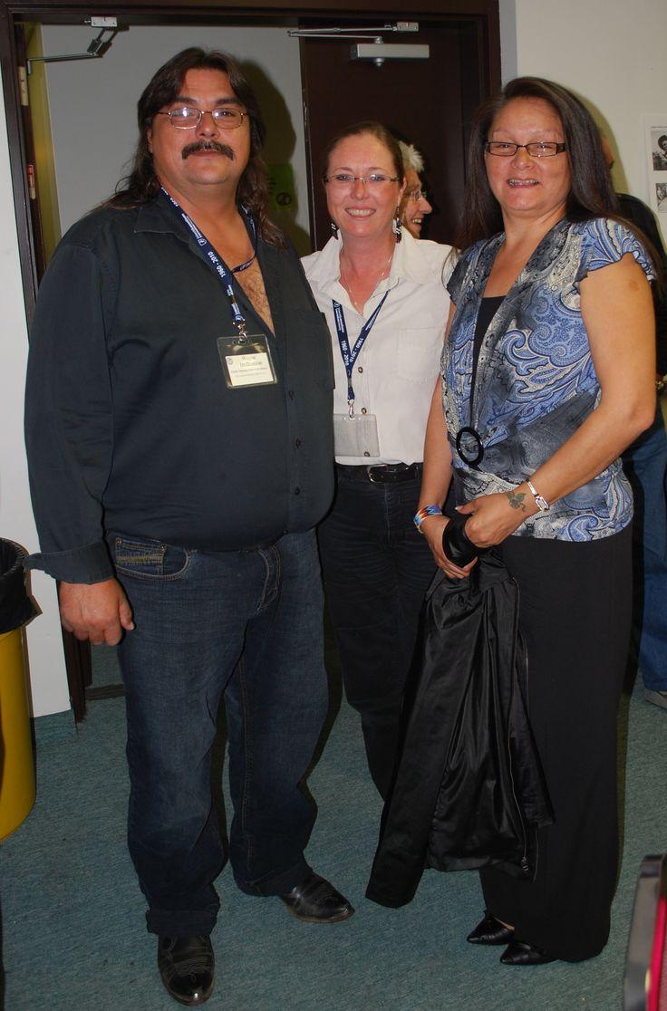 Chief McQuabbie, Lori and Wife Wanda McQuabbie