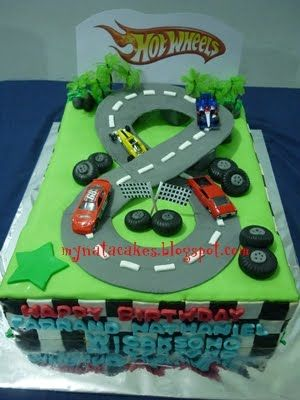 Best Party Toy Car And Hot Wheels Theme Images On Pinterest - Homemade hot wheels birthday invitations
