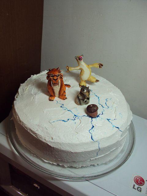 """торт """"Ледниковый период """""""