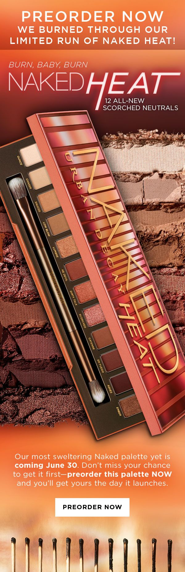 Milled has emails from Urban Decay, including new arrivals, sales, discounts, and coupon codes.