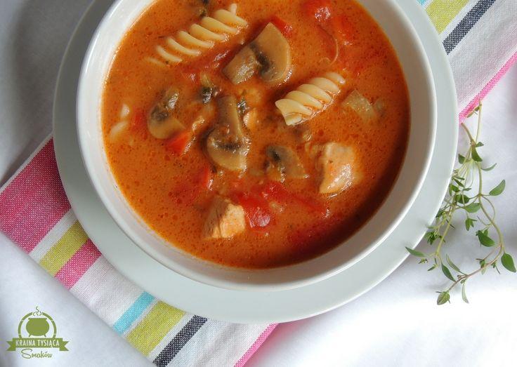 Kraina Tysiąca Smaków: Drobiowa zupa gulaszowa