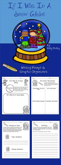 If I Was In A Snowglobe Writing Activity - FREEBIE