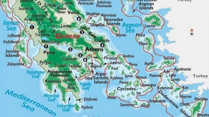 Best 25 Map of greek islands ideas only on Pinterest