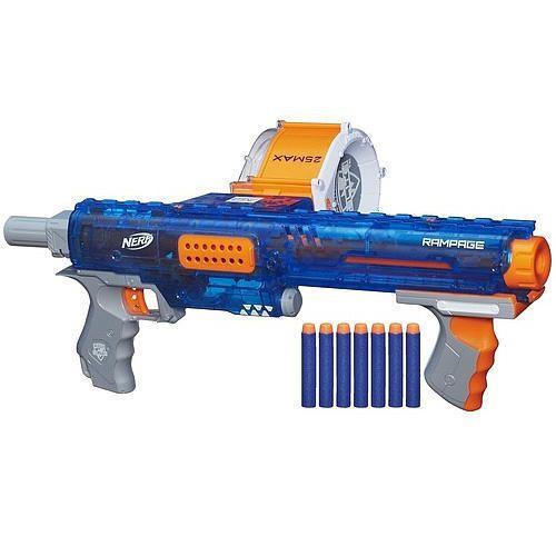 NERF N-Strike Elite Rampage Sonic Ice Series Blaster #Hasbro