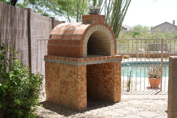 One Of Our First Ovens The Louis Oven Is A Full Firebrick Taller Than Our C