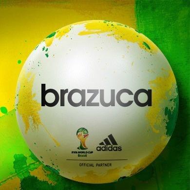 BRAZUCA é o nome escolhido para bola oficial da Copa do Mundo de Futebol. A copa será realizada no Brasil em 2014.
