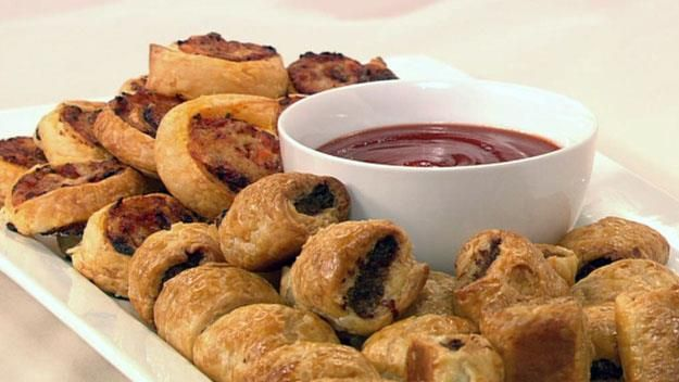 Delight both children and adults with these top-quality homemade sausage rolls and pizza spirals.