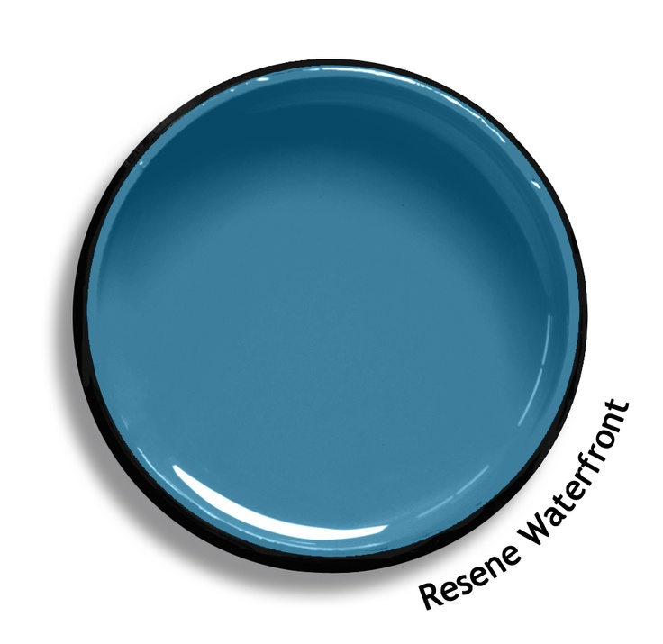 Resene Waterfront is a light astral influenced blue, cool, subdued and essentially gentle. Try Resene Waterfront with light sky blues, bold pure reds or opaline blue greens such as Resene Half Escape, Resene Smashing or Resene Serenity. From the Resene The Range fashion colours. Latest trends available from www.resene.co.nz. Try a Resene testpot or view a physical sample at your Resene ColorShop or Reseller before making your final colour choice.
