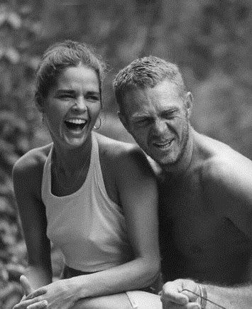 1973 - 1978. Ali MacGraw and Steve McQueen