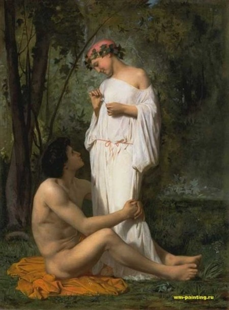 Pierre Auguste Cot, Daphnis and Chloe 1880