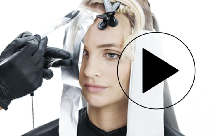 """""""Rooted Blonde"""" - Video  HOW-TO #behindthechair #blonde #rootedblonde…"""