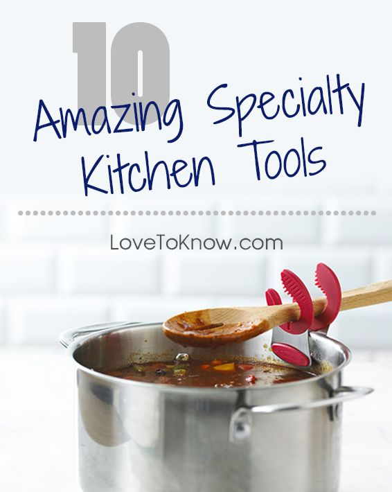 Specialty kitchen tools are like awesome toys for anyone who is passionate about cooking. From low to high tech gadgets in a variety of price points, there are some really useful tools any home chef should consider.