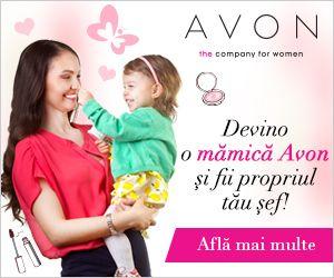 Intră în comunitatea Avon și descoperă cum să transformi un hobby frumos într-o afacere de suflet! Avon a lansat platforma de e-commerce unde reprezentantii Avon isi pot deschide propriile magazine online. Pe aceasta platforma clientii Avon pot comanda produsele de la reprezentantul preferat sau din zona in care locuiesc.