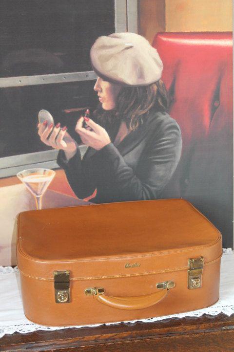Vintage Antler Suitcase/1970's by LookBackSalvintage on Etsy