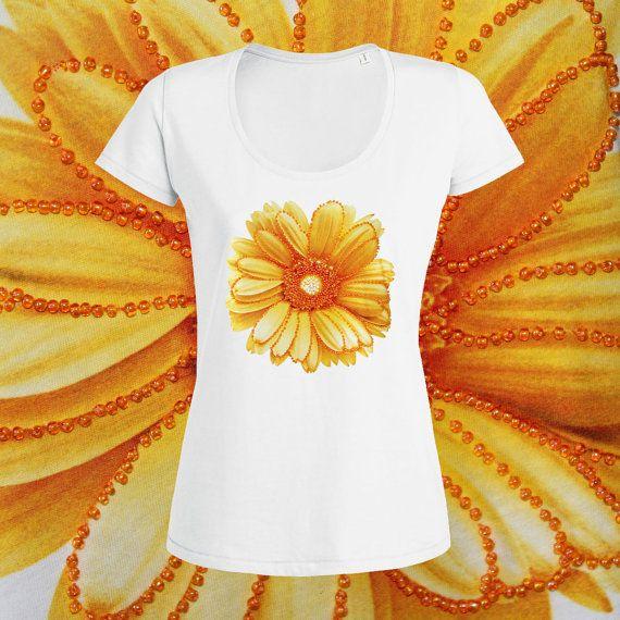 Girasol camiseta girasol camiseta el amarillo por ToniKaramanoff