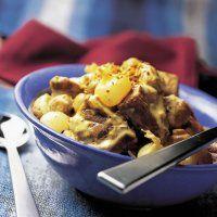Blanquette d'agneau au curry - Cuisine et Vins de France
