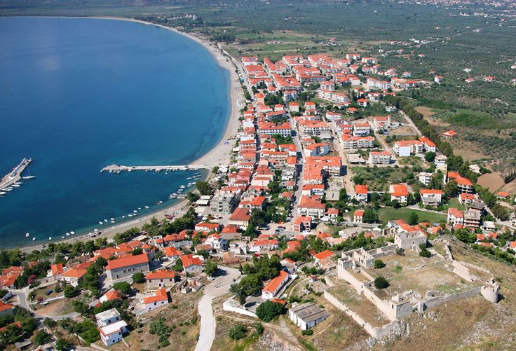 The coastal village of Astros. #greece #peloponnese #arcadia #travel