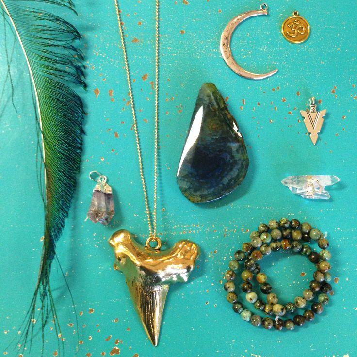 Beadazzled Beadstore Hilversum, The Netherlands. Boho, Gemstone, feathers.