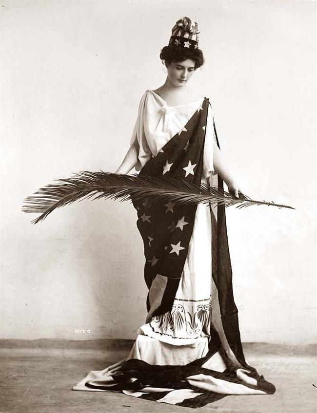 Lady Liberty c. 1910's.