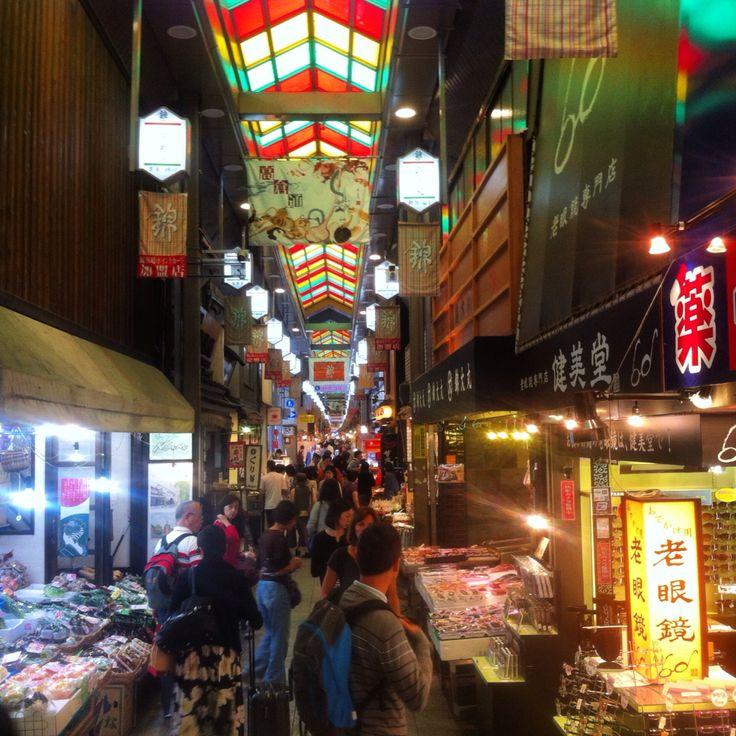 Nishiki Food Market en Kyoto