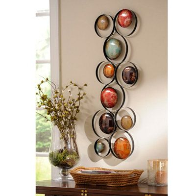 metallic bubbles i metal wall plaque at kirklandsso cute