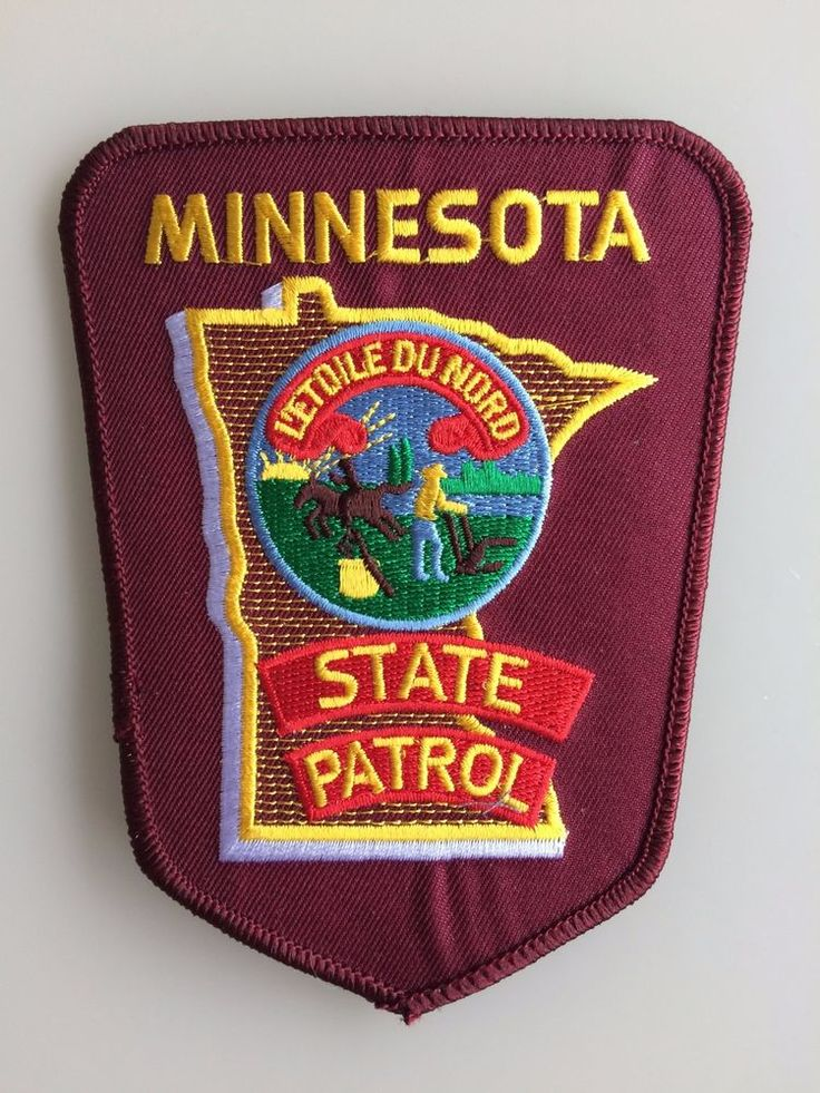 Patch Minnesota State Police Soulder Flashes Patrol New Original Rarity
