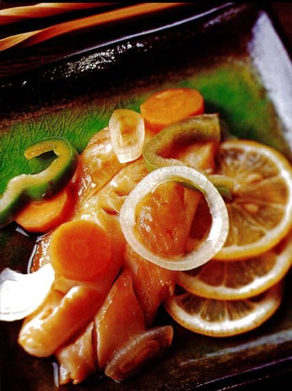 Baked Fish with Vegetables Recipe
