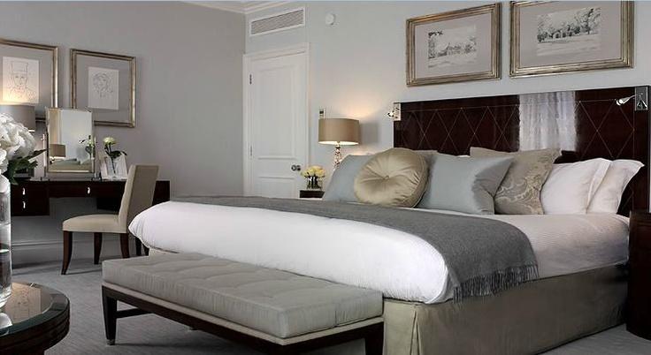 Bedroom Grey Bed
