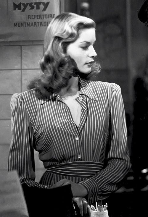 Lauren Bacall │ To Have and Have Not, 1944