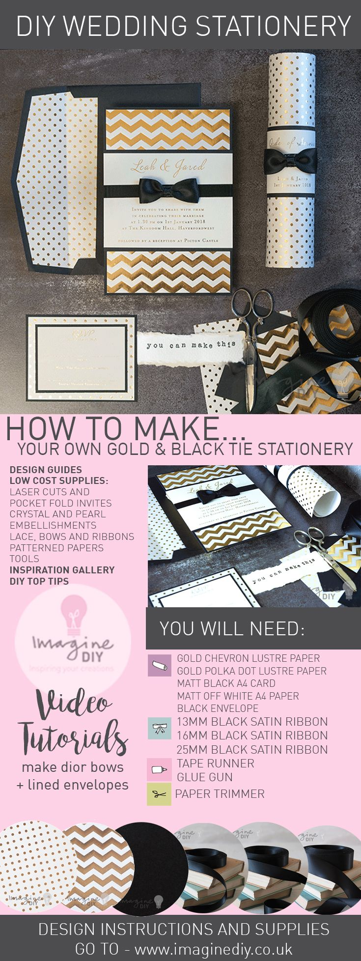 282 best How to Make DIY Wedding Stationery images on Pinterest