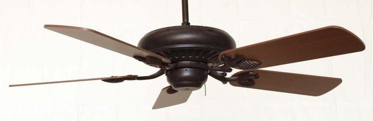 Sandia Rustic Ceiling Fan