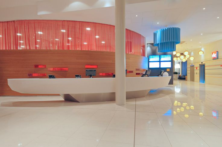 Chic lobby @Jonathan Park Inn by Radisson Oslo Airport with inspirational surroundings to boost your creativity