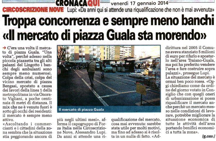 Salviamo il mercato di Piazza Guala!!!