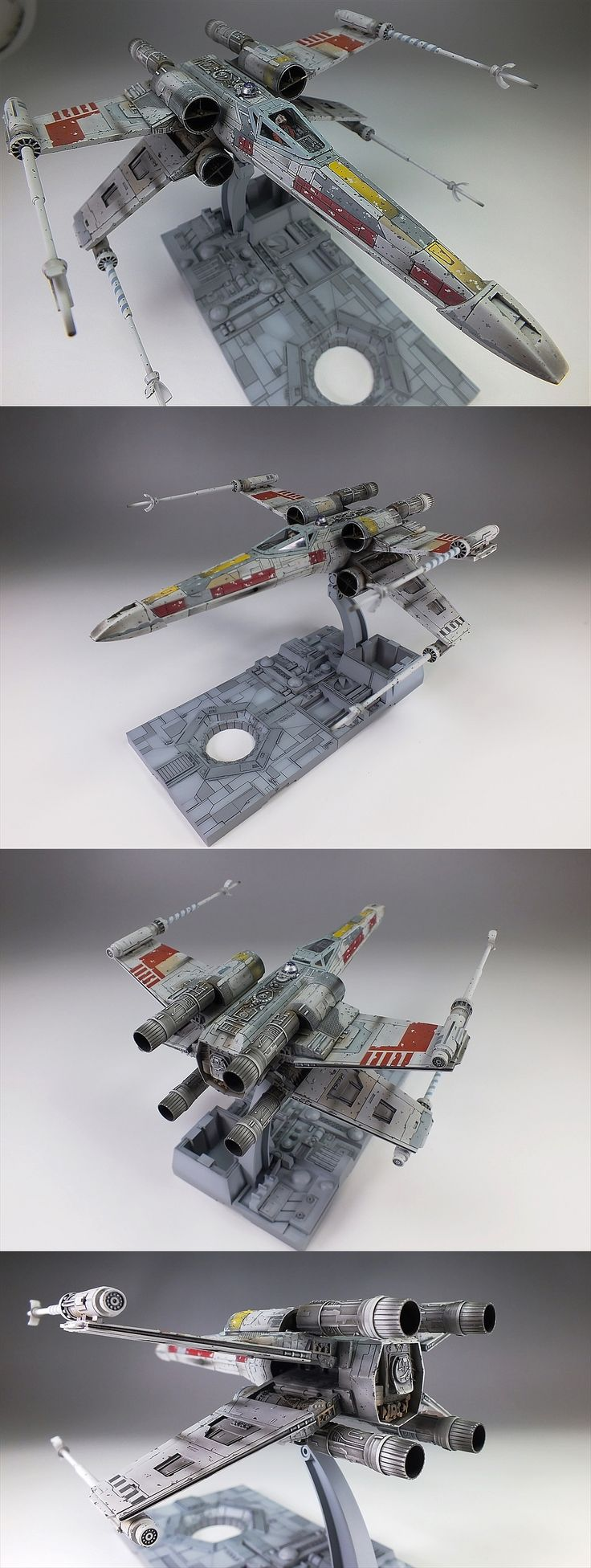 Bandai x Star Wars 1/72 X-Wing Starfighter: Amazing Work by oyoshicity. Full Photoreview Hi Res Images | GUNJAP