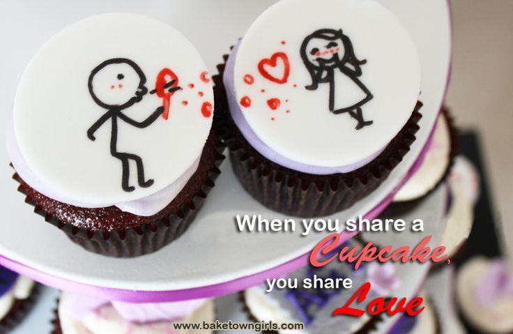 Share a Cupcake! http://www.baketowngirls.com/