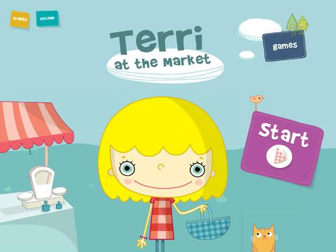 Terri at the Market Giveaway by the @iMums live now! #iPad #Giveaway #Storybook