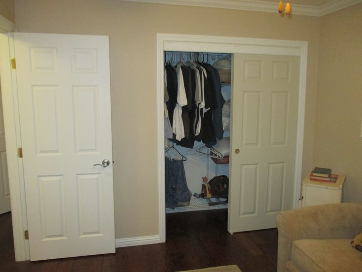 Bypass Closet Doors Or Sliding Closet Doors Are Available In So Many  Options Such As The 2 Panel/2 Track Mirror Ovation Panels Or 2 Panel/2  Track Colonist ...