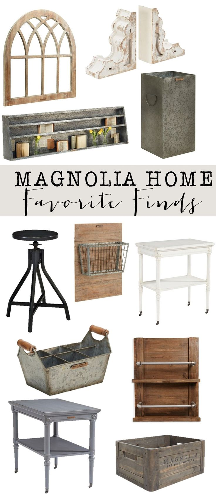 Friday Favorites: Magnolia Home Decor : My favorites from Joanna Gaines new home…